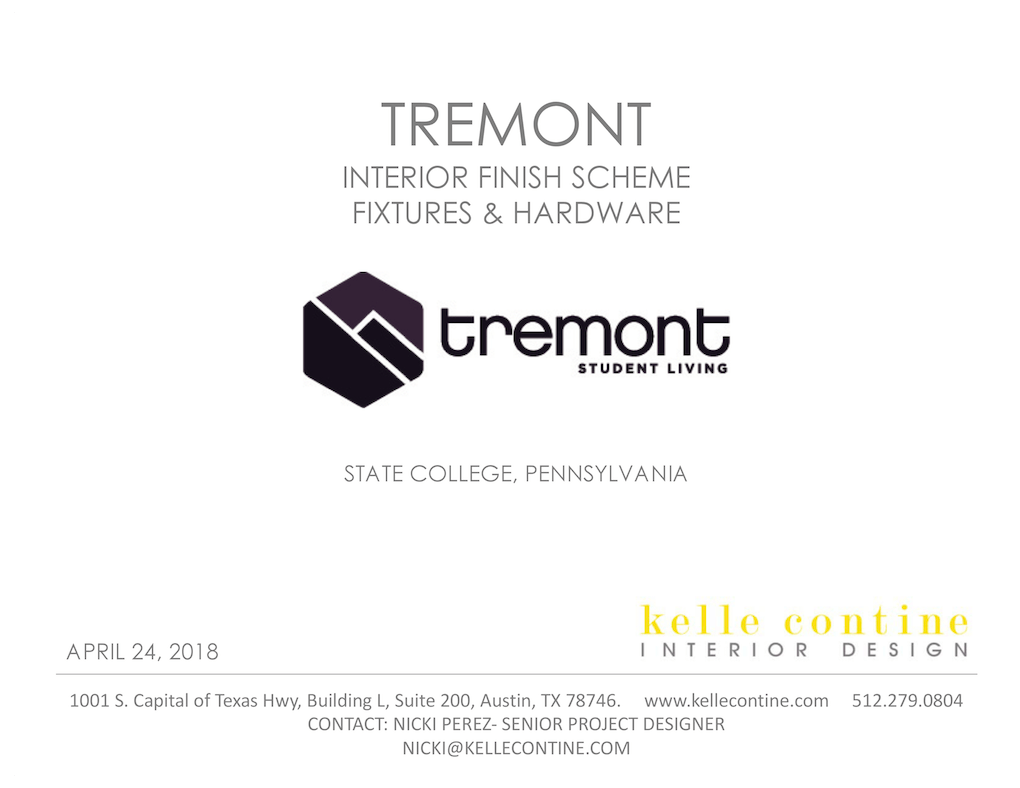 Tremont_ Finishes and Fixtures_1