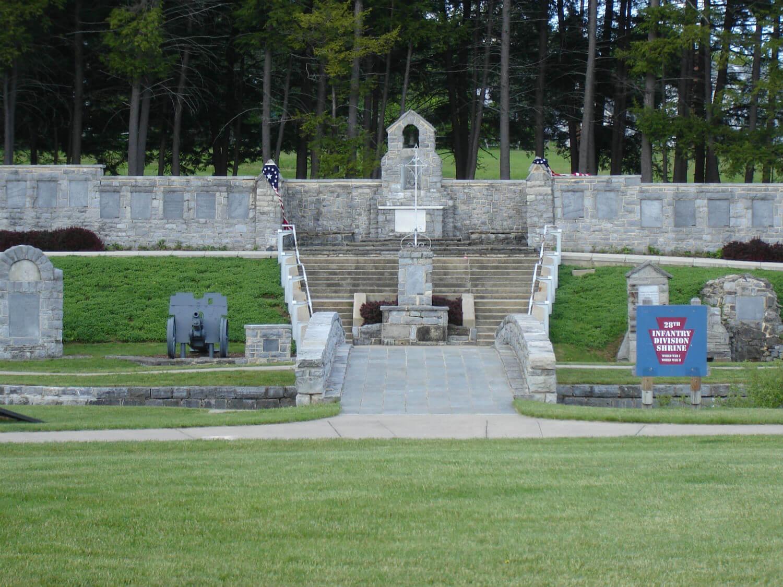 28th Infantry WWI Shrine